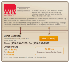 AAHA Accredited, A Full Service Veterinary Hospital