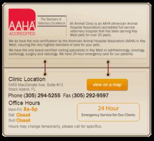 AAHA Accredited, A Full Service Veterinary Hospital